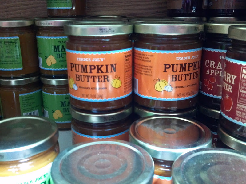 pumpkin butter, trader joe's