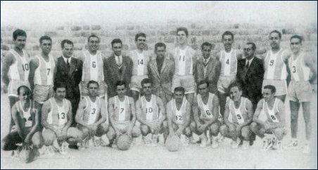 Os campeões nacionais de basquetebol 1951-52
