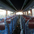 het interieur van de vanhool t917 van south west tours bus 67