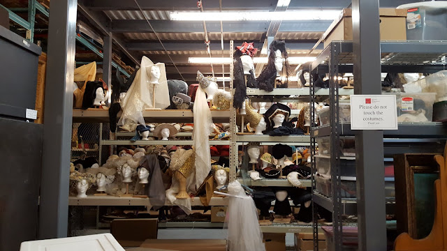 SO MANY HATS! At the Stratford Festival Costume Warehouse. From Visiting Stratford, Ontario? The first thing you need to do...