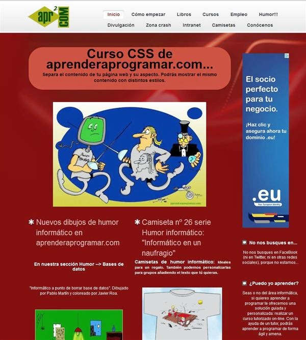 template css