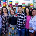 Prefeito Carlin Moura compareceu no IV Arraia Cemei Vila da Paz
