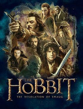 Filme Poster O Hobbit: A Desolação de Smaug DVDSCR XviD & RMVB Legendado