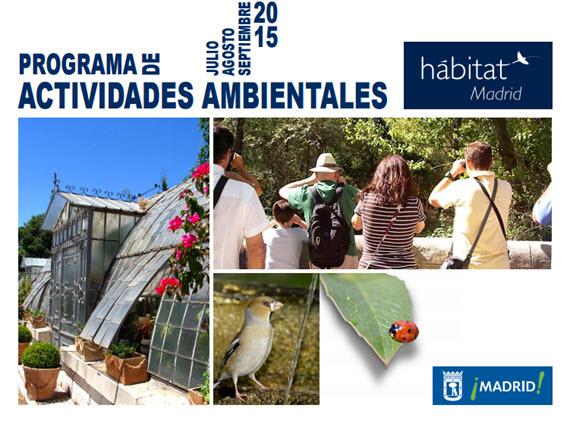 Programa H Bitat Madrid Actividades Ambientales