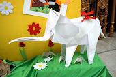 """Expoziția de origami """"Dulcea mea copilărie"""""""
