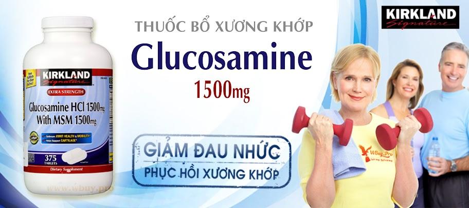 Viên bổ xương khớp Glucosamine Kirkland Signature