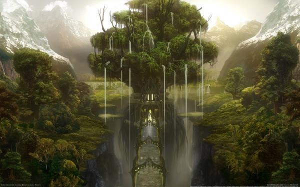 Sorrow Of Horror Landscape 5, Magical Landscapes 3