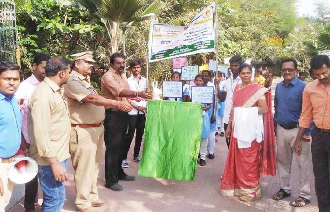 Tuberculosis Awareness Procession in Arcot