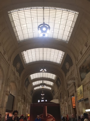 Milan central station, Italy