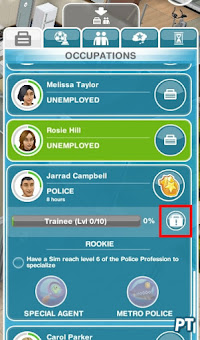 The Sims FreePlay Police Station
