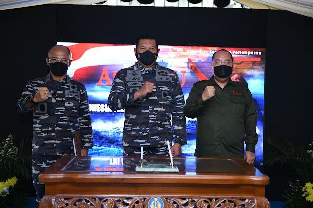 Tanamkan Nasionalisme  dan Semangat Juang Prajurit, TNI AL  Buat Film Pertempuran Laut Arafuru