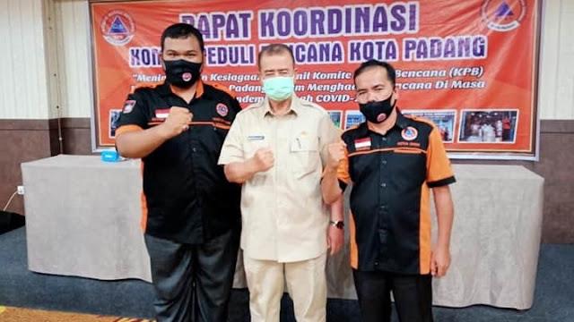 Nasrul Abit Ingatkan Pentingnya Kesiagaan Hadapi Bencana di Masa Pandemi Covid-19.