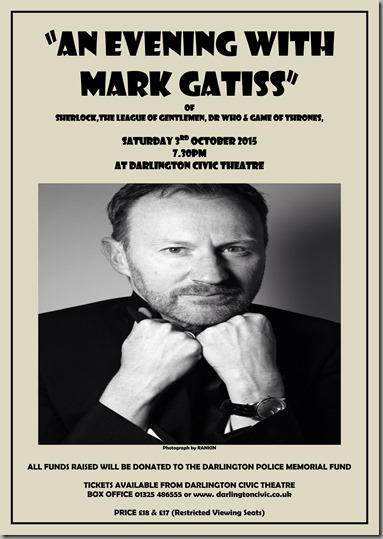 Mark Gatiss Poster copy