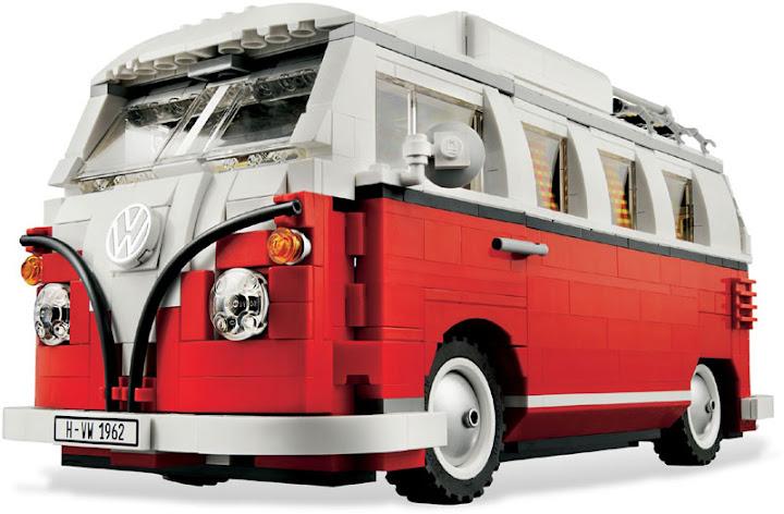 Contenido de Lego® 10220 Volkswagen T1 Camper