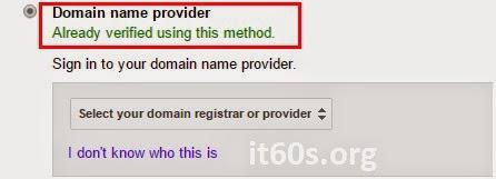 Cách xác minh Website Wordpress trong Webmaster tools 13