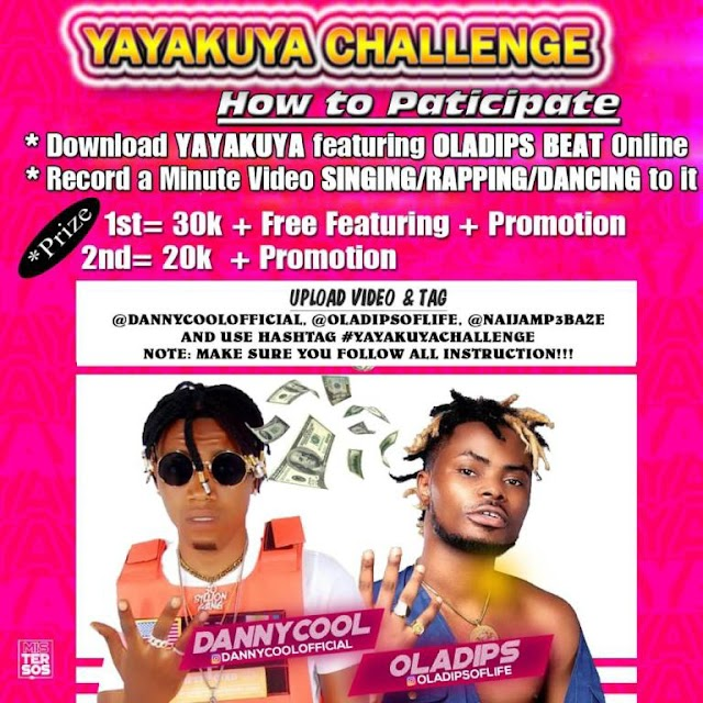 [BangHitz] DOWNLOAD MP3 – dannycool ft Oladips – Yayakuya Challenge (Freebeat)