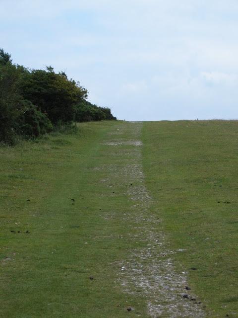 walk 29 am path along ridge.JPG
