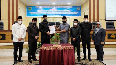Pemko dan DPRD Tandatangani Nota Kesepakatan Perubahan KUA-PPAS Tahun 2021