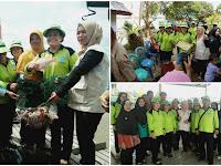 Kristina: Puji Hasil Panen Ikan UP2K Desa Tanjung