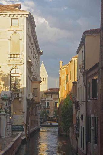 Venise au crépuscule.