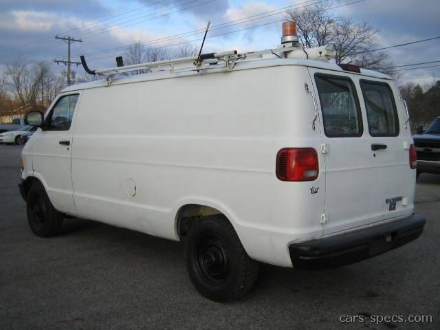 2001 Dodge Ram Cargo Van
