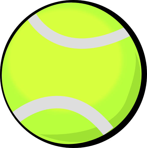 The Totally Free Clip Art Blog: Sports - Tennis ball