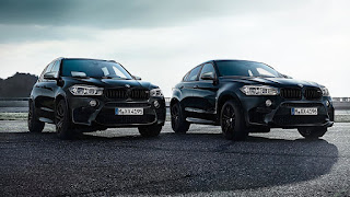 BMW X5 M X6 M Blackfire edition