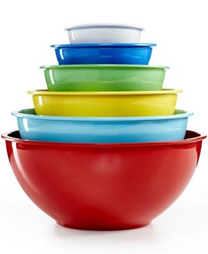 martha stewart melamin bowls