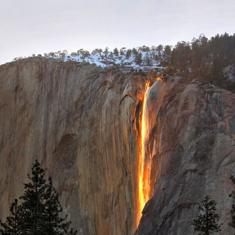 The Horsetail Firefall of Yosemite