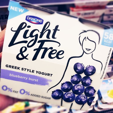 danone light and free weight watchers points