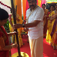 Chiru Daughter Srija Wedding Stills