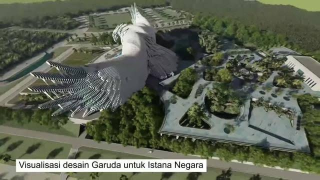 Heboh Desain Istana Baru di IKN, Warganet: Kok Norak Ya