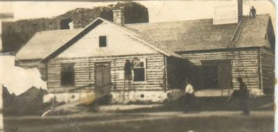 Строительство пожарного депо1923 г.(Из личного архива Малевского М.А.)