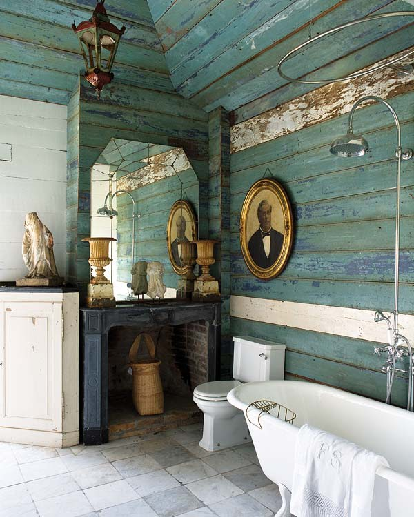 Eva Mendes Turquoise White Dior Dress Bathroom Bed Bedroom