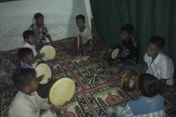 Latihan Al Banjari sore hari
