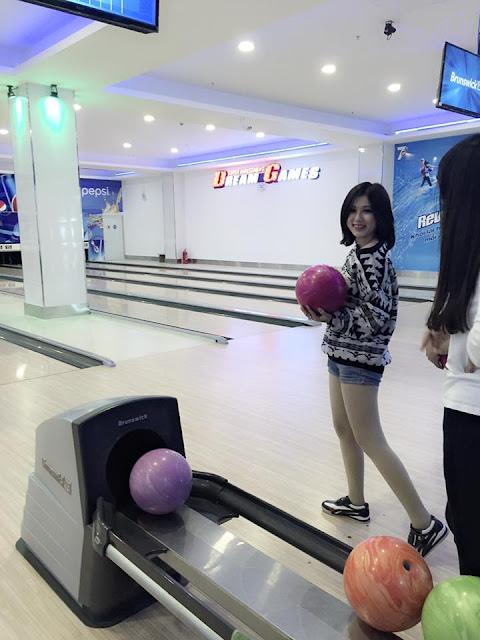 Hot girl Hoàng Mai Linh 2017 là em đây