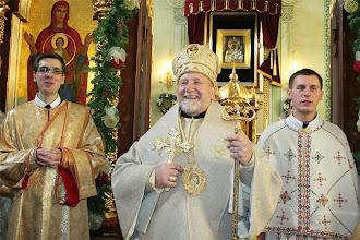 Photo: Нововисвячені зі святителем