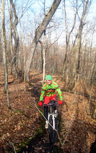 Photo taken November 1st. Great riding after trails drying up