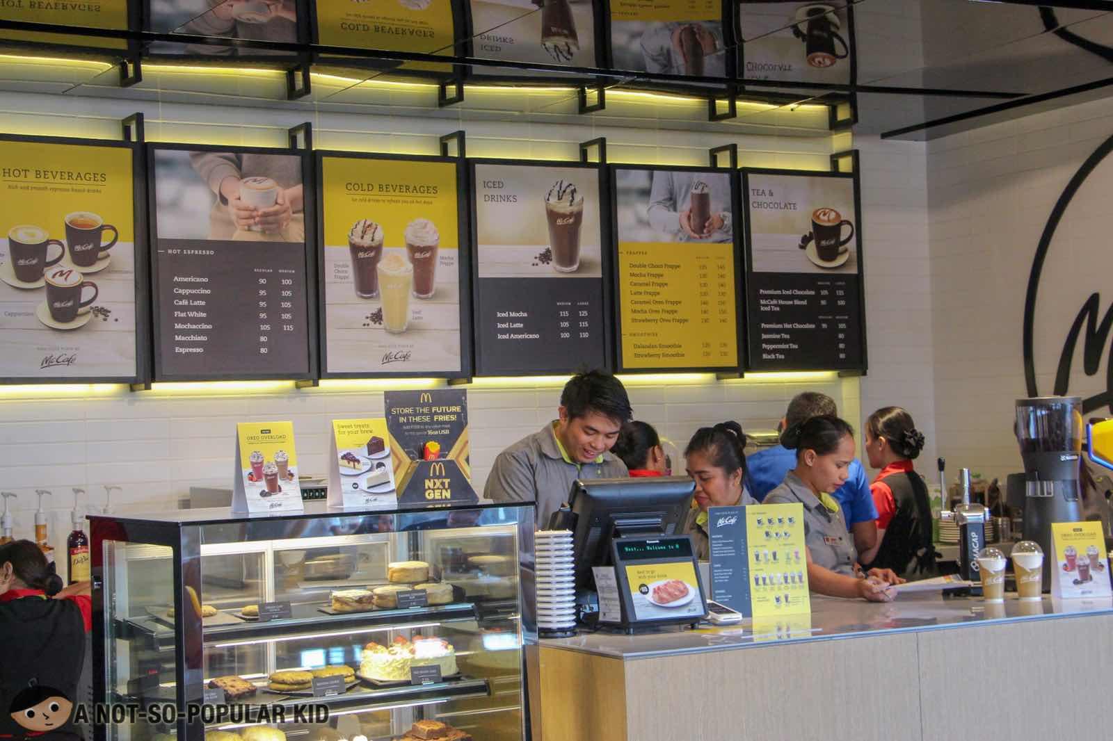 McCafe store - NXTGEN