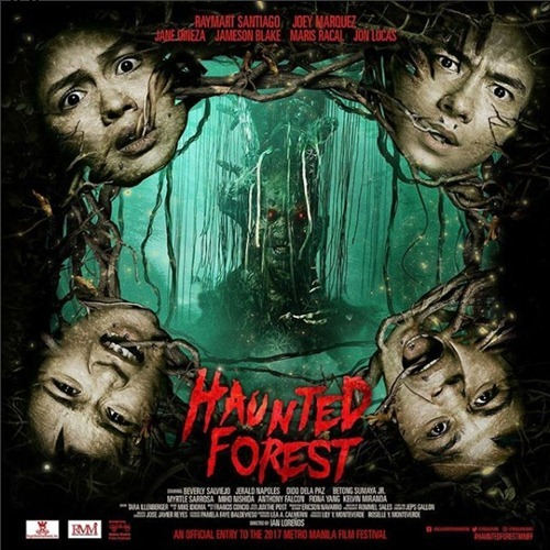 Haunted Forest Official Movie Poster