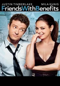 "alt=""Both coming out of disasterous relationships, a female headhunter and her newest client turned best friend make a 'friends with benefits' pact vowing to stop the casual sex if either become emotionally attached. While the set-up works at first, soon the two friends fall in love and must reevaluate what they mean to each other. MPAA Rating: R 2011 Screen Gems, Inc. All Rights Reserved.    CAST AND CREDITS  Actors Justin Timberlake, Mila Kunis, Patricia Clarkson, Jenna Elfman, Bryan Greenberg, Richard Jenkins, Woody Harrelson  Director Will Gluck  Writers Will Gluck, Keith Merryman, David A. Newman"""