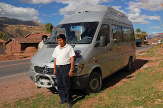 Photo: This is Jorge, our van driver, who has accompanied us on nearly all our adventures.