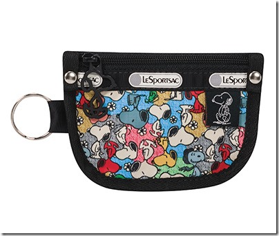 Peanuts X LeSportsac 7317 Key Coin Pouch 01