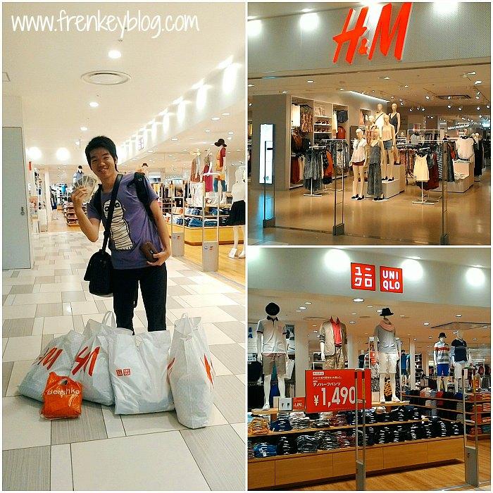 Kalap Belanja di H&M dan Uniqlo Jepang