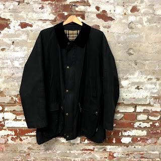 Burberry Barn Jacket with Quilted Lining