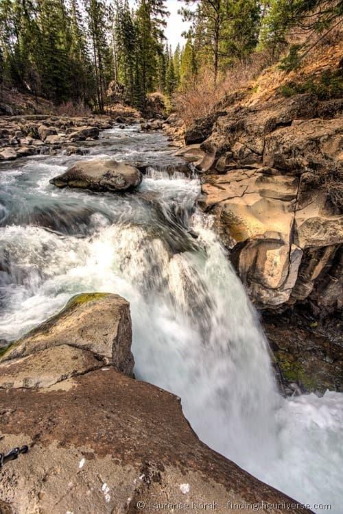 Lower Falls McCloud Shasta Cascade