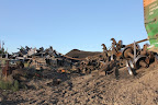 Coal piles from derailment in Mesa - Tony Eveland credit