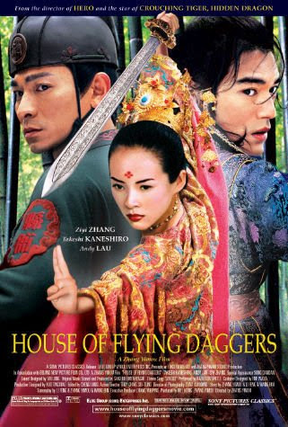 Poster Of House of Flying Daggers (2004) Full Movie Hindi Dubbed Free Download Watch Online At alldownloads4u.com