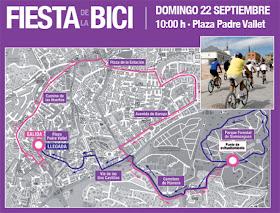 Fiesta de la Bici de Pozuelo, domingo 22 de septiembre de 2013