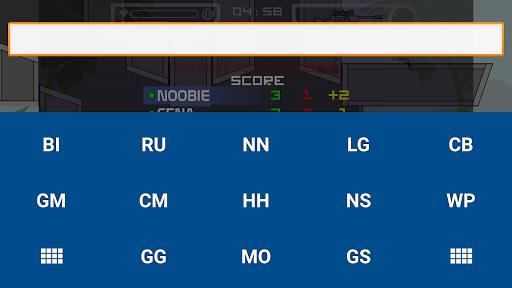 Keyboard for Mini Militia 1.0 screenshots 4